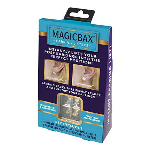 Our #3 Pick is the Magic Bax Stabilizing Earring Back Lifters