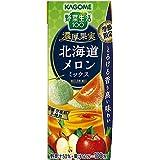 野菜生活100季節限定 濃厚果実北海道メロンミックス195ml ×24本