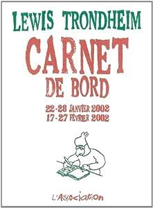 Livres Couvertures de Carnet de bord 2 [janv. fév. 2002]