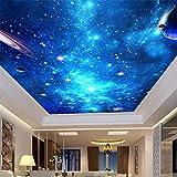 Wandbild 3D-Deckengemälde Galaxy Nebula Fototapete Ktv Bar Hotel Deckenwand Hintergrund Tapete Wandgemälde Wandverkleidungen