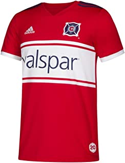 adidas Youth Chicago Fire Soccer Jersey Home Replica