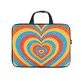XINGYUE Rainbow Love - Funda protectora para portátil (neopreno), diseño de arcoíris