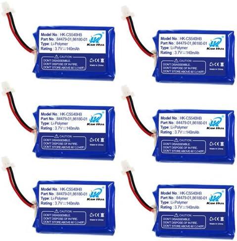 Plantronics CS540 内祝い C054 Replacement KAMHUA 84479-01 Battery 86 人気上昇中