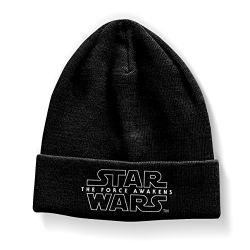 Star Wars Officiellement Marchandises sous Licence 7 - The Force Awakens Bonnet (Noir)