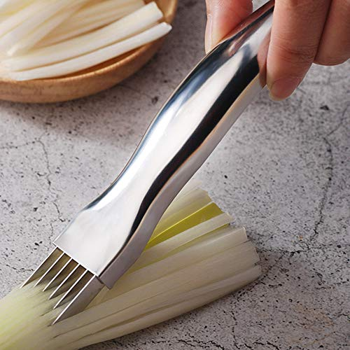 asdasdsda Household Stainless Steel Vegetable Cutting Tools Onion Chopping Cutter Onion Chopping Machine Vegetable Cutter Onion Grater Kitchen Supplies Meat Tenderizers -  Z103898FDI5NI