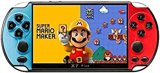 X7 Plus Built-in Free 10000 Games Handheld Double Rocker Hd Music Portable LCD Camera 8G Movies Game Console Video Kids MP...