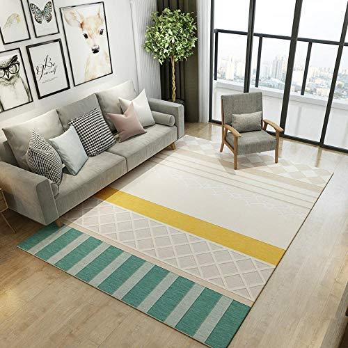Moderna alfombra geométrica moderna para salón, sofá, mesa de centro o dormitorio llena de tiendas, adecuada para la mesa de noche de 300 cm x 400 cm
