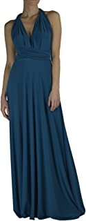 Made In USA Infinity/Transformer/Convertible Maxi Dress Made In USA