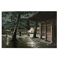 1000ピース ジグソーパズル 土屋光逸 「高輪泉岳寺」 ジグソーパズル 木製パズル Puzzles 50x75cm(6歳以上が適しています)