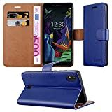 iPeak Case for LG K20 2019 Phone Cover, Leather Magnetic