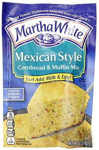 Martha White Mexican Style Corn Bread & Muffin Mix (6 oz) 3 Pack