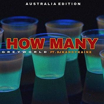 How Many (Australia Edition) [feat. Djkandykaine]