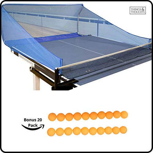 Learn More About Ball Catch Net for Ping Pong and Table Tennis, This Catcher Net is Great for Single...