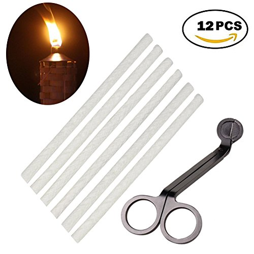 Replacement Lantern Wicks & Wick Trimmers