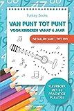 Van punt tot punt voor kinderen vanaf 6 jaar - Getallen van 1 tot 100: Kleurboek met 30 prachtige plaatjes (Dutch Edition)