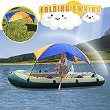 Aufblasbares Schwimmbett mit Zelt, Wasserhängematte, Schlauchboot, Liegestuhl, Wasserluftmatratze, schwimmendem Wasserbett, Schwimmstuhl, aufblasbarer Hängematte für Erwachsene und Kinder