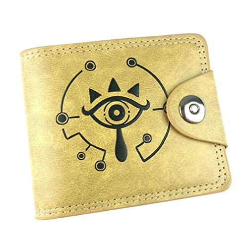 WANHONGYUE The Legend of Zelda Spiel Klassisch Kunstleder Trifold Geldbörse Geldbeutel Portemonnaie Portmonee Brieftasche /2