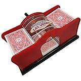 7. Yuanhe Casino 2-Deck Hand Manual Card Shuffler (red)