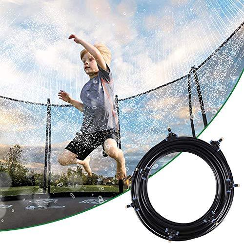 Trampolin Sprinkler Spielzeug Kinder, Garten Sprinkler, Spray Wasserpark Spaß Sommer Outdoor Wasserspiel Spielzeug Zubehör Automatische Bewässerung Sprühabstand