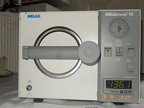 MELAG Melatronic 15-E Autoklav Baujahr:2004 mit Trayhalter,1Tablett,Handgrif,NEU