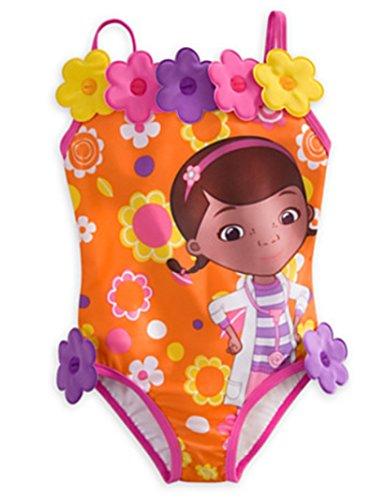 Disney - Doc Mcstuffins Badeanzug für Mädchen – Größe 7/8 – Neu mit Etikett
