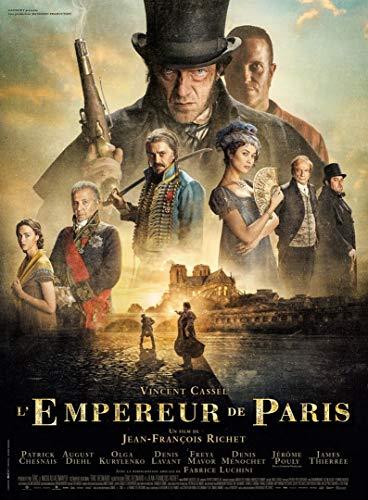 Affiche Cinéma Originale Grand Format - L'empereur De Paris (Format 120 x 160 cm pliée)