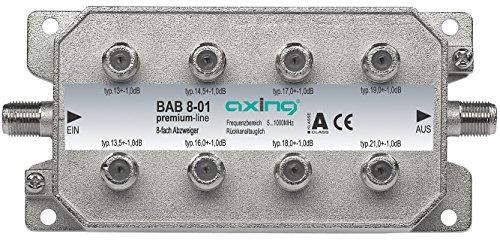 Axing BAB 8-01 - Derivador Acoplador direccional de señal TV con conector...