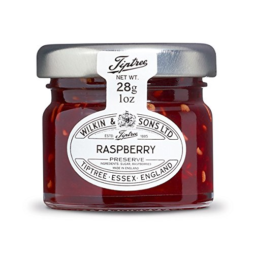 Tiptree Raspberry Preserve Minis, 1 Oz (Pack Of 72)