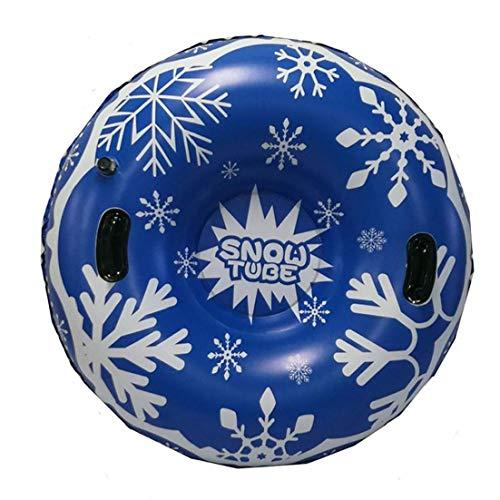 lujiaoshout Floated Ski Board Ski Kreis mit Griff Inflatable Skifahren Werkzeug Durable Freien Kinder Adult Snow-Tube Skifahren Equipments