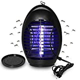Wanqueen 2019 Upgraded Electronic Bug Zapper, Indoor Mosquito Trap with Hook, Hangable, for Home, Bedroom, Kitchen, Office