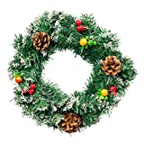 Guirnalda Corona Decorativa de Navidad 30 cm - El accesorio perfecto para crear...
