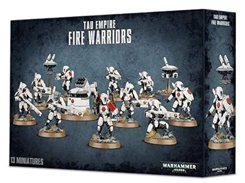 Games Workshop Kit de plástico de los Guerreros de Fuego del Imperio de Tau 9900000 en Tau Empire Fire Warriors