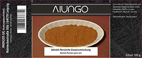 Viungo® Goldline - Advieh Persische Gewürzmischung - 100g - Schwarze Dose in einer Geschenkbox