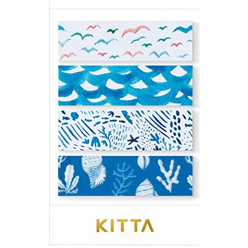 キングジム マスキングテープ KITTA Clear KITT002 ウミベ