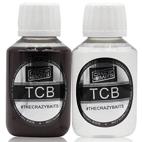 2 x TheCrazyBaits Booster Concentrado -Pack Ahorro- Aromas Tiger Nut Natural & Maiz Dulce. Confecciona y remoja Tus cebos.Gama Old School Anglers.Super eficaces para CarpFishing (Pesca de Carpas)