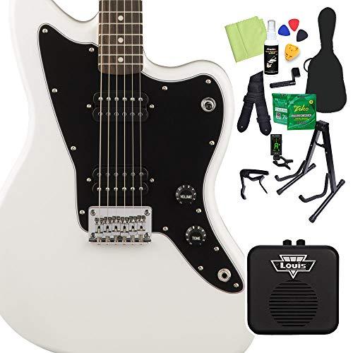 Squier by Fender Affinity Series Jazzmaster HH Arctic White エレキギター 初心者14点セット ミニアンプ付 ジャズマスター スクワイヤー/スクワイア
