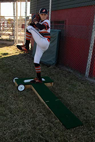 """8"""" Tall Step Straight Portable Pitching Mound"""