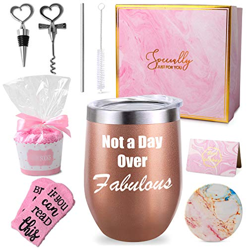 Not a Day Glass Set birthday box birthday gifts for friends female gifts for women coffee gift basket fun gifts for women friends silicone glasses care package for women gift