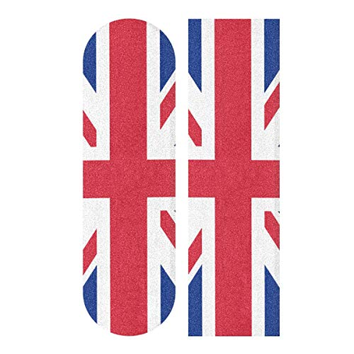 All3DPrint Skateboard-Griptape, Motiv: Flagge des Vereinigten Königreichs, 22,9 x 83,8 cm