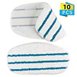 Yatuela 10 Pack Replacement Microfibre Steam Mop Pads Compatible PurSteam ThermaPro 10-in-1