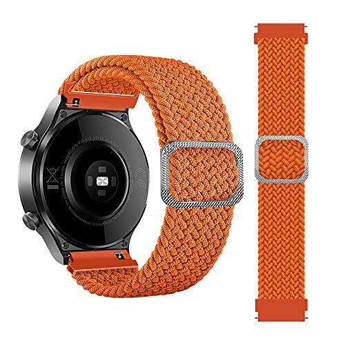 Tiggo 22mm Correa para Xiaomi Haylou RT LS05S/OnePlus Watch Bandas Correa,Nylon Reloj Recambio Brazalete Correa para...