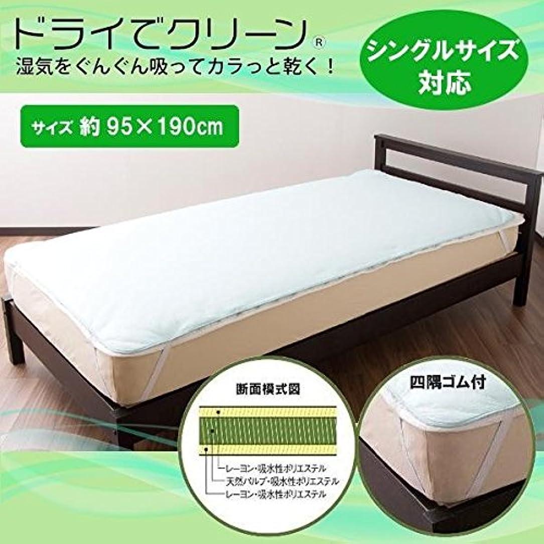設計貧困インキュバスオーシン 日本製 除湿シート ドライでクリーン シングルサイズ対応 約95×190cm