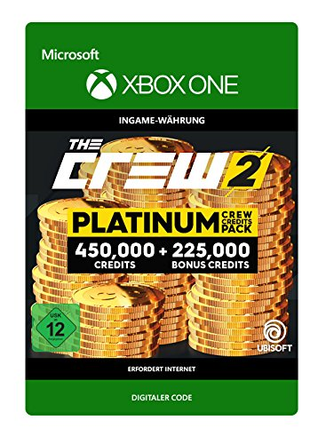 The Crew 2 Platinum Crew Credits Pack DLC | Xbox One - Download Code