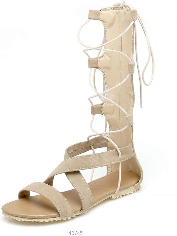 2019 Gladiator Sandals Women Plus Size 34-43 shoes Women Sandals New Flats Sapato Feminino Summer