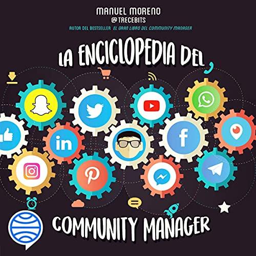Diseño de la portada del título La enciclopedia del Community Manager
