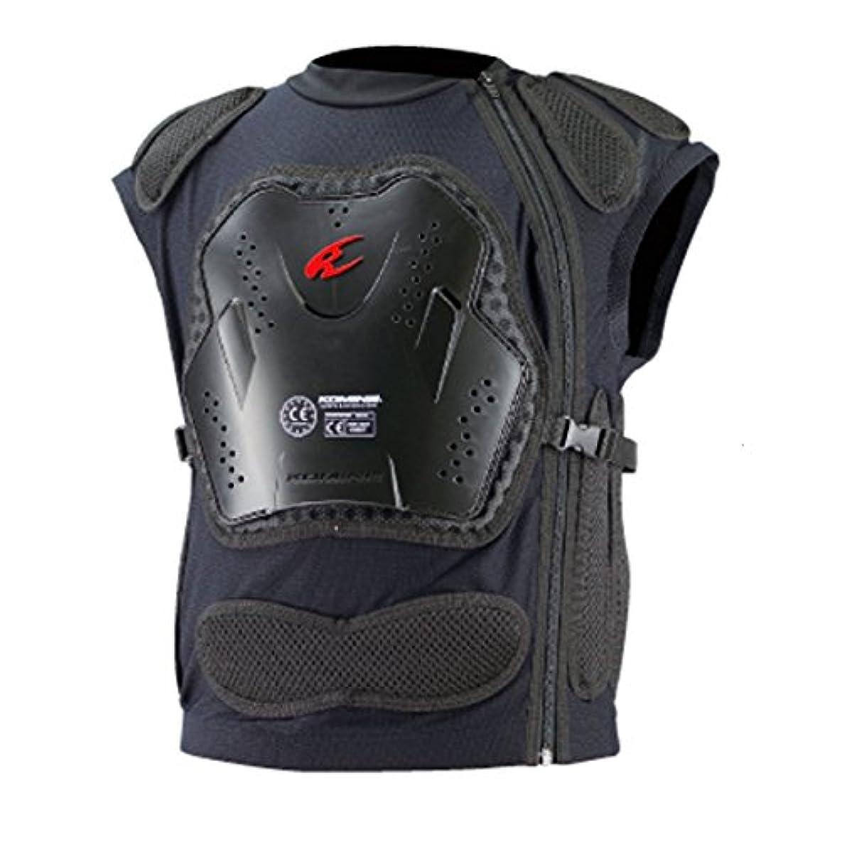 評議会移住する控えめなコミネ KOMINE バイク 胸部プロテクター CEボディアーマードベスト ブラック XL 04-698 SK-698