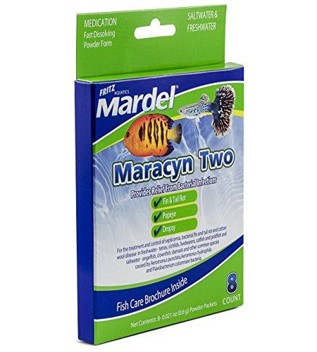 Fritz Aquatics - 8 Count Mardel Maracyn 2 Treats (47000)