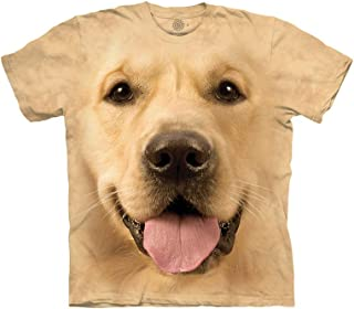 realistic 3d dog face t shirts