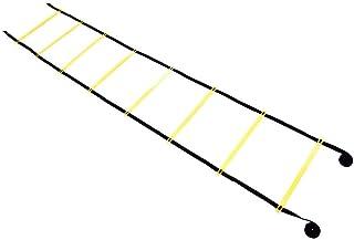 Delaman Escaleras de Agilidad Balón de fútbol Fútbol Flexibilidad Entrenamiento de Velocidad Gimnasio Escalera de Salto 4m