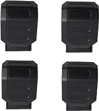 Universal UTV Windshield Clamps Clamps for UTV RZR Rhino Commander Maverick John Deere Gator Quick Connect Mounting(Pack of 4)